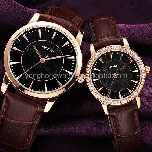 Genuine Leather Vogue Watch Wholesale Elite Japan Movt Lover Watch