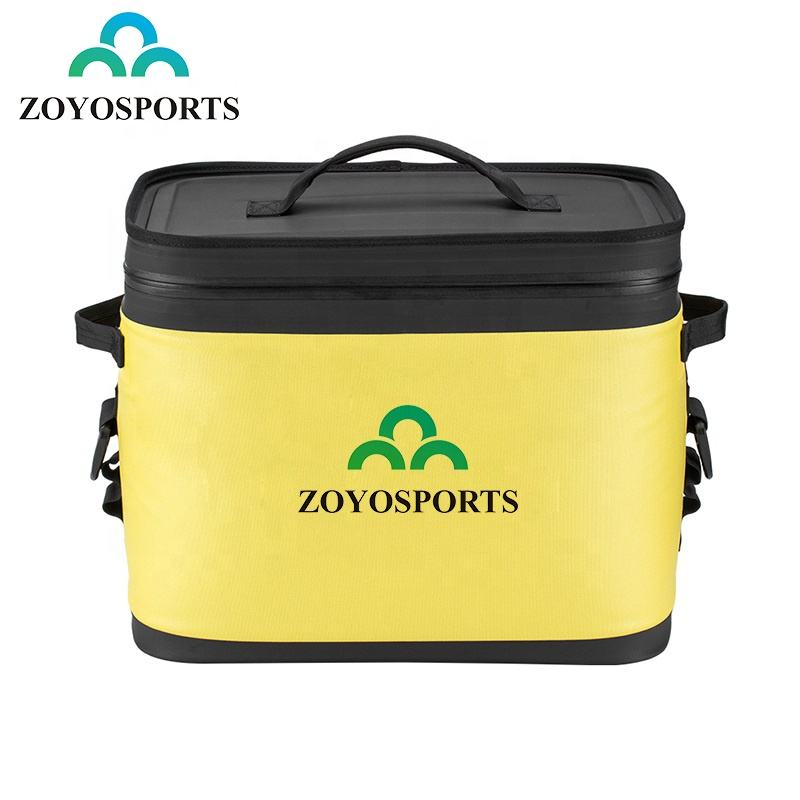 LOW MOQ OEM ODM Cycling Durable Portable Airtight Leak-proof Insulated cool bags Outdoor Car Camping Picnic Ice box Cooler Bag