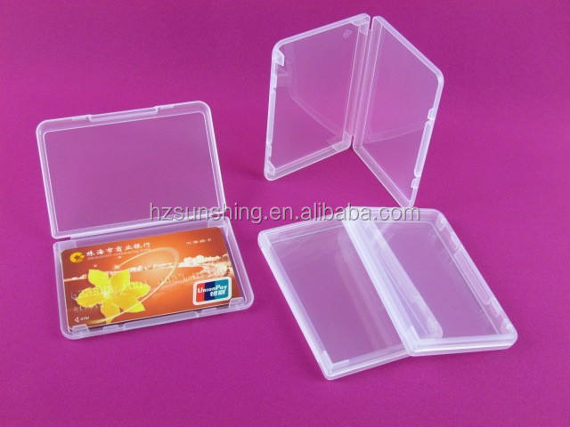 clear plastic card protector