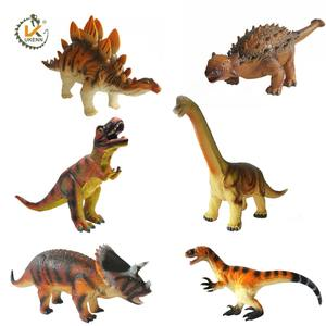 UKENN plastic educational toys animal model 3D dinosaur rubber