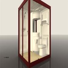 modular portable all in one bathroom pod home decoration mobile bathroom shower room for trailer house motel