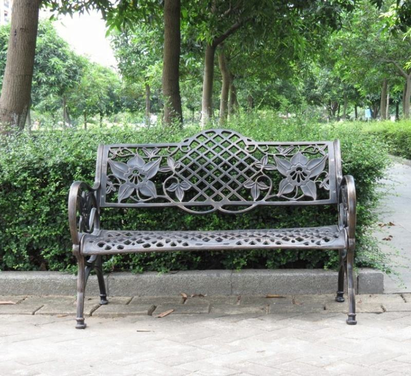 Exotic gardening bench prices antique cast iron rose bench designs