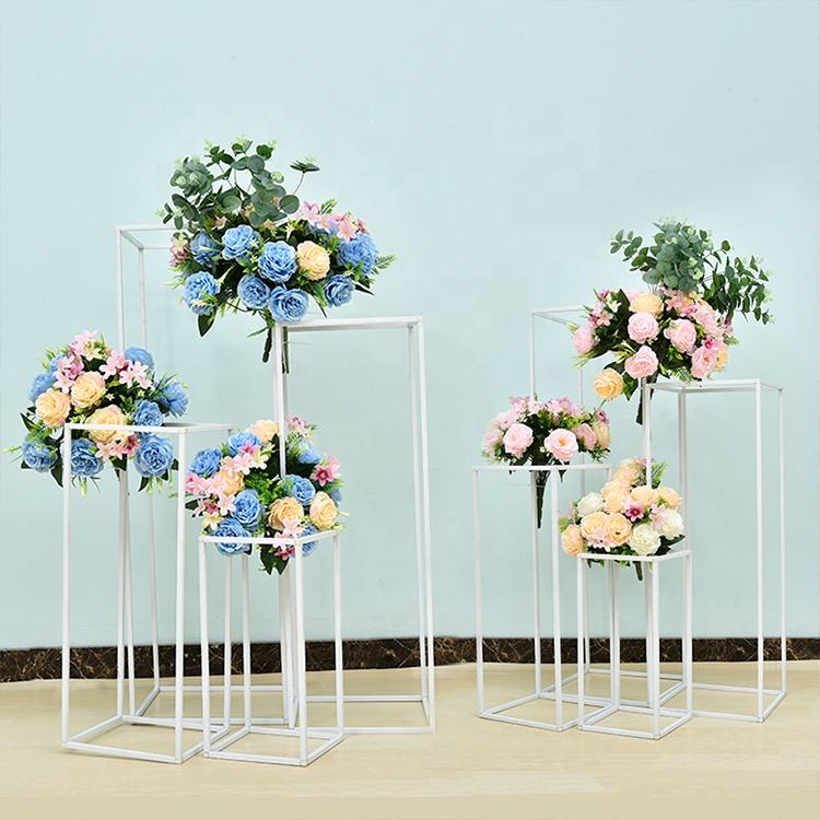 Wedding Decorative Tall Gold Flower Stand Centerpieces Home Decor