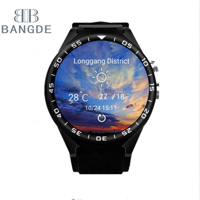 Bluetooth חכם שעון S99C עם 2 gb RAM 16 gb ROM המצלמה ה-SIM כרטיס 3 גרם WIFI GPS Smartwatch עבור אנדרואיד 5.0 IOS טלפון PK KW88