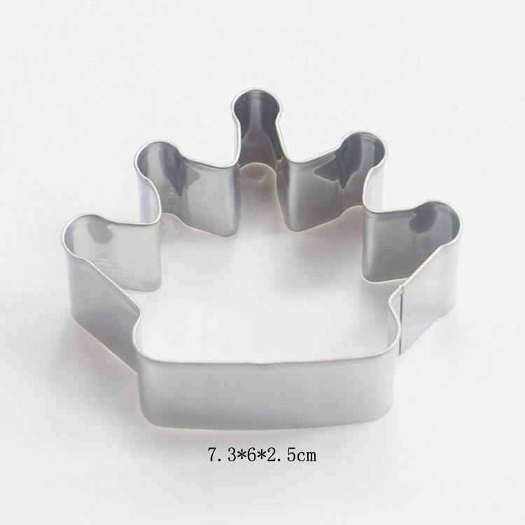 Wedding items cute crown shaped cookie and sandwich bread cutter in alibaba cn