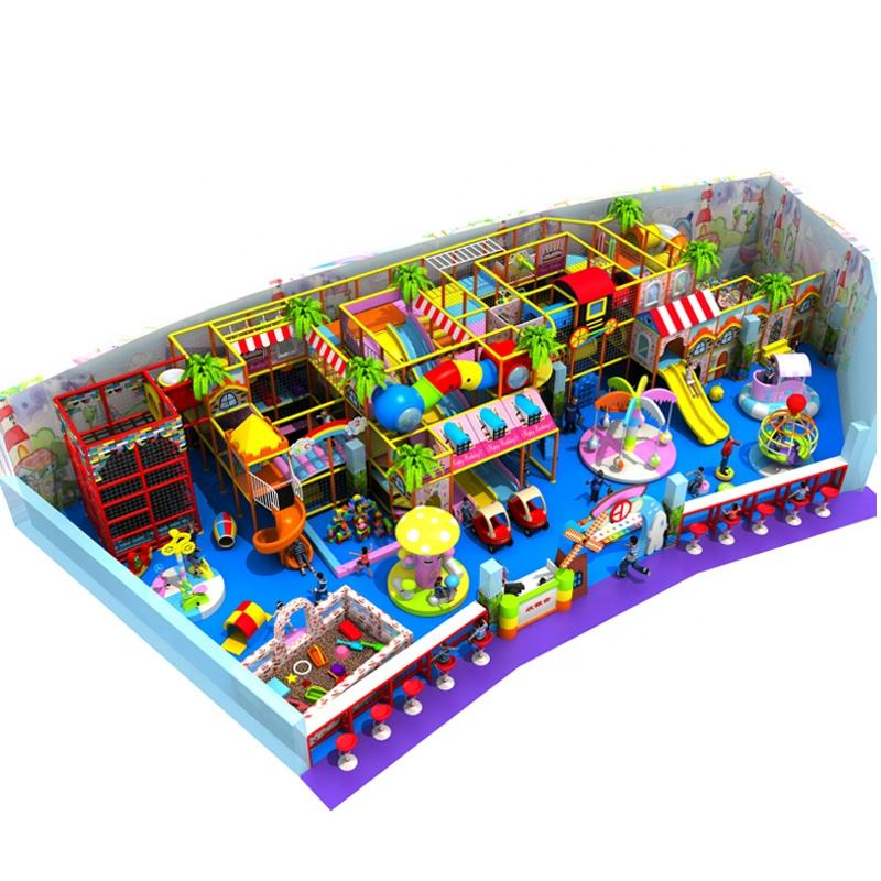 Customized kids Multifunction Soft trampoline Entertainment Indoor Playground Equipment