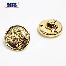 China manufacture metal navy buttons sewing for garment