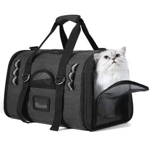 Pet Carrier for Cats,Dogs,Puppy with Airline Approved Soft Sided Pet Tote Carriers Bags,Portable Pet Supply Carrier