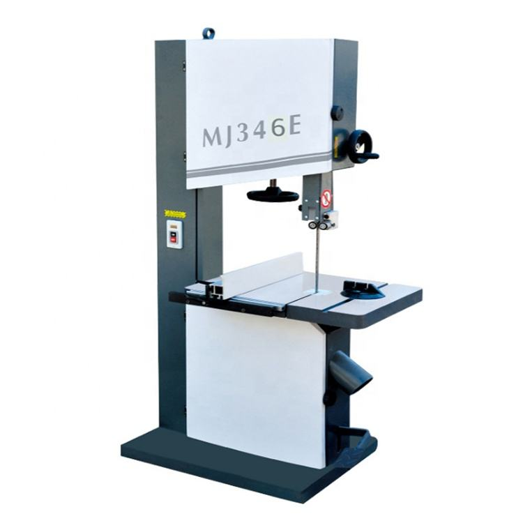 MJ346E woodworking vertical band saw machine