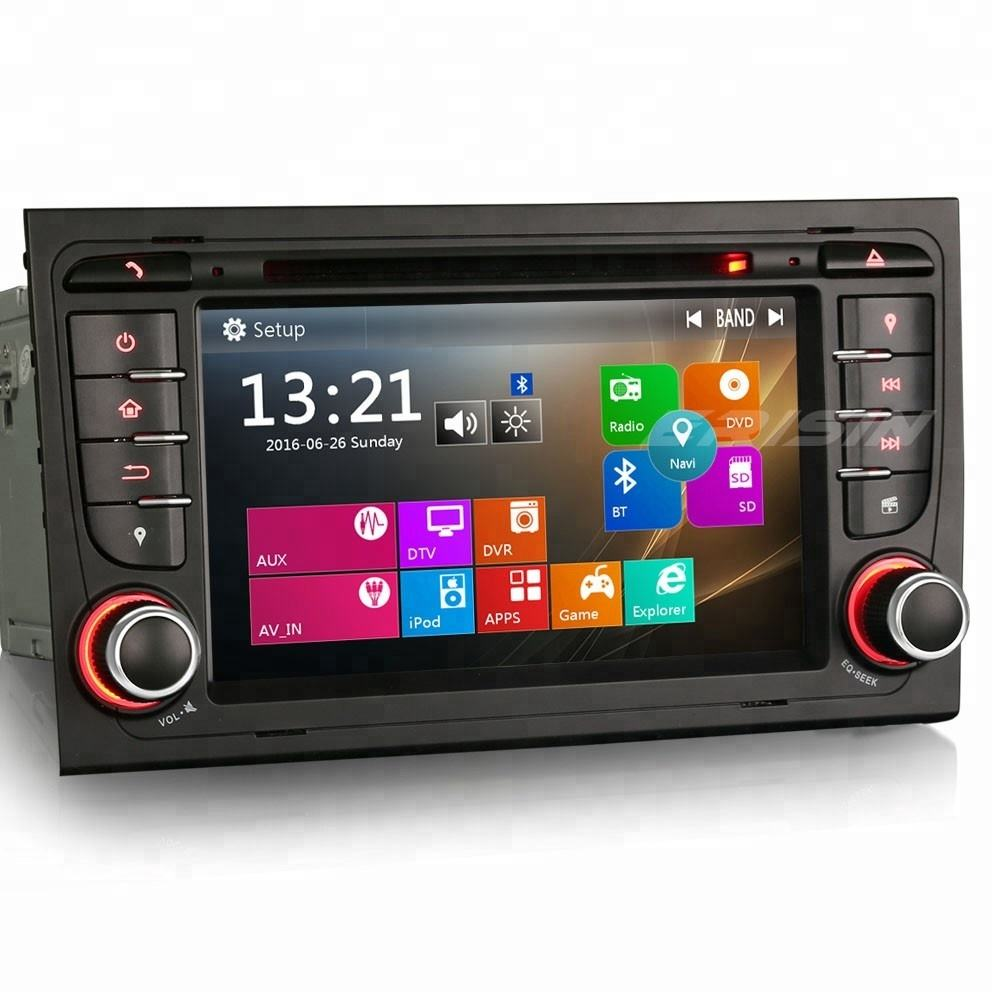 Erisin ES7378A 2 Din 7 Inch Car Audio <span class=keywords><strong>DVD</strong></span> Player GPS Cho A4 S4 RNS-E