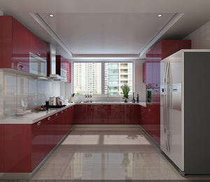 Well designed modern full kitchens furniture cabinets