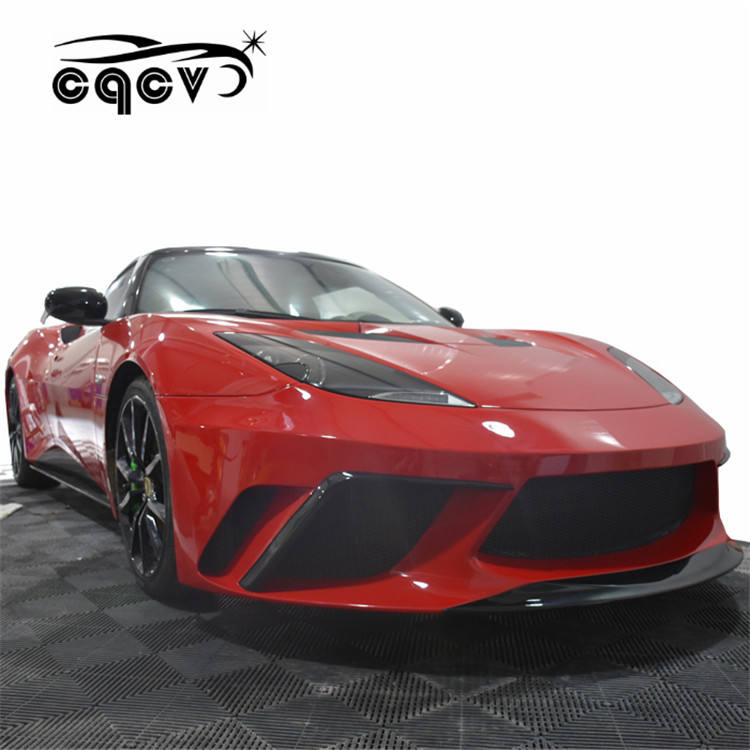 body kit for Lotus Evora Body Parts with front bumper rear bumper