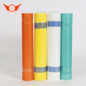 High quality eifs fiber mesh 110g alkaline resistance fiberglass mesh equipment for manufacture of fiberglass mesh