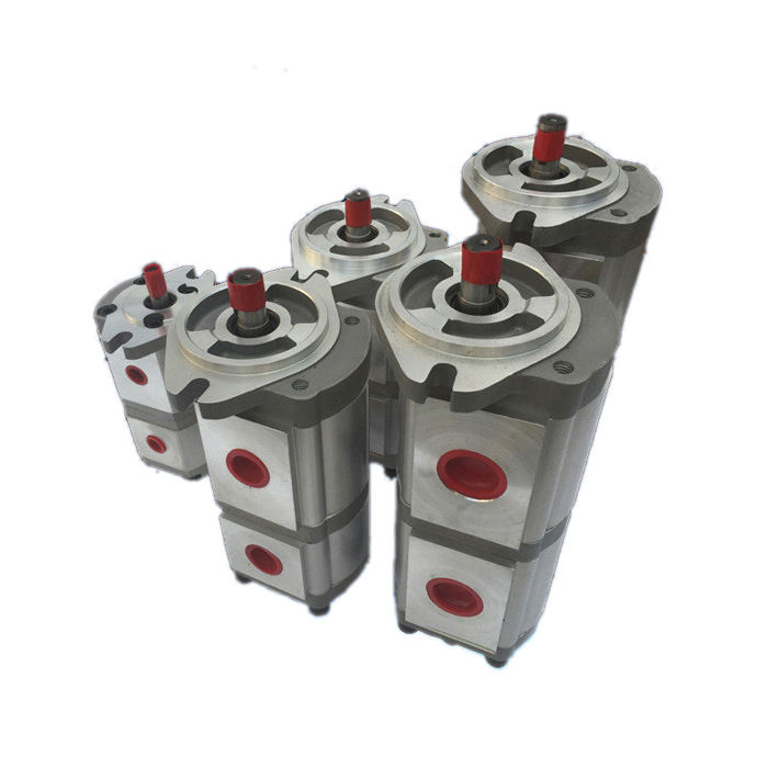 Smart Connectd Hydraulic tandem Gear Pump For Power Unit And Small Hydraulic System HGP-33A series