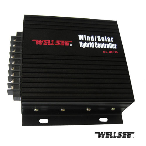 WELLSEE factory wind solar hybrid controller 12V24V 30A WS-WSC30 400 600 800watts wind turbine generator charge controller price