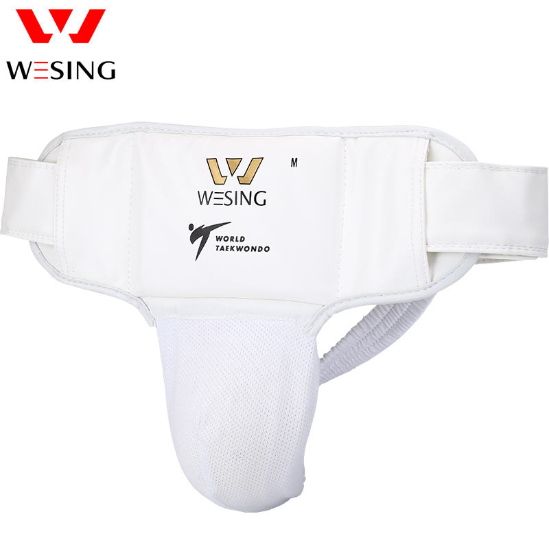 WTF approved taekwondo groin protector PU, Mesh ,PP standard Male groin guard for competition or training