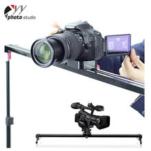 Easy To Use 60/80/100/120/150Cm Aluminum Alloy Dslr Camera Dolly Track Slider Video