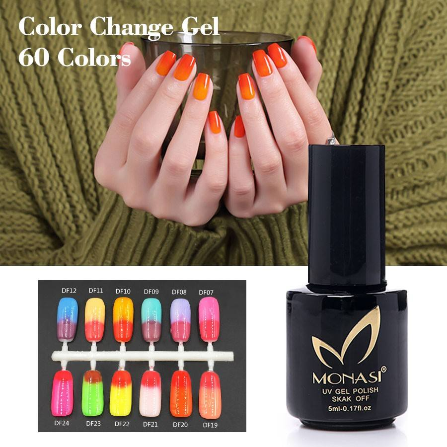 China No Logo private label make up your own brand changing color gel , nail polish chemical changing gel
