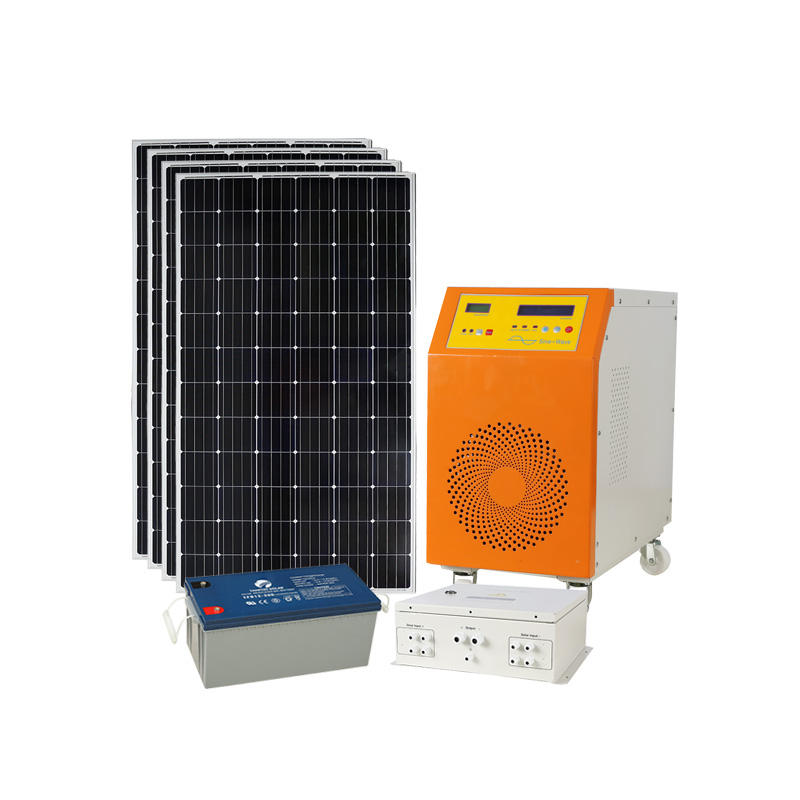 household solar photovoltaic power generation 10KW / solar diesel hybrid system 10kw 15KW / solar cell installation kit 10KW 15k