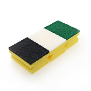 Eco-friendly Customized Wholesale HD/NS grip kitchen sponge scourer
