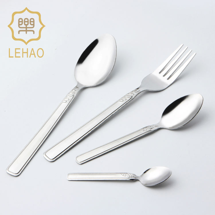 Stock Philippine Stainless Steel Spoon Fork