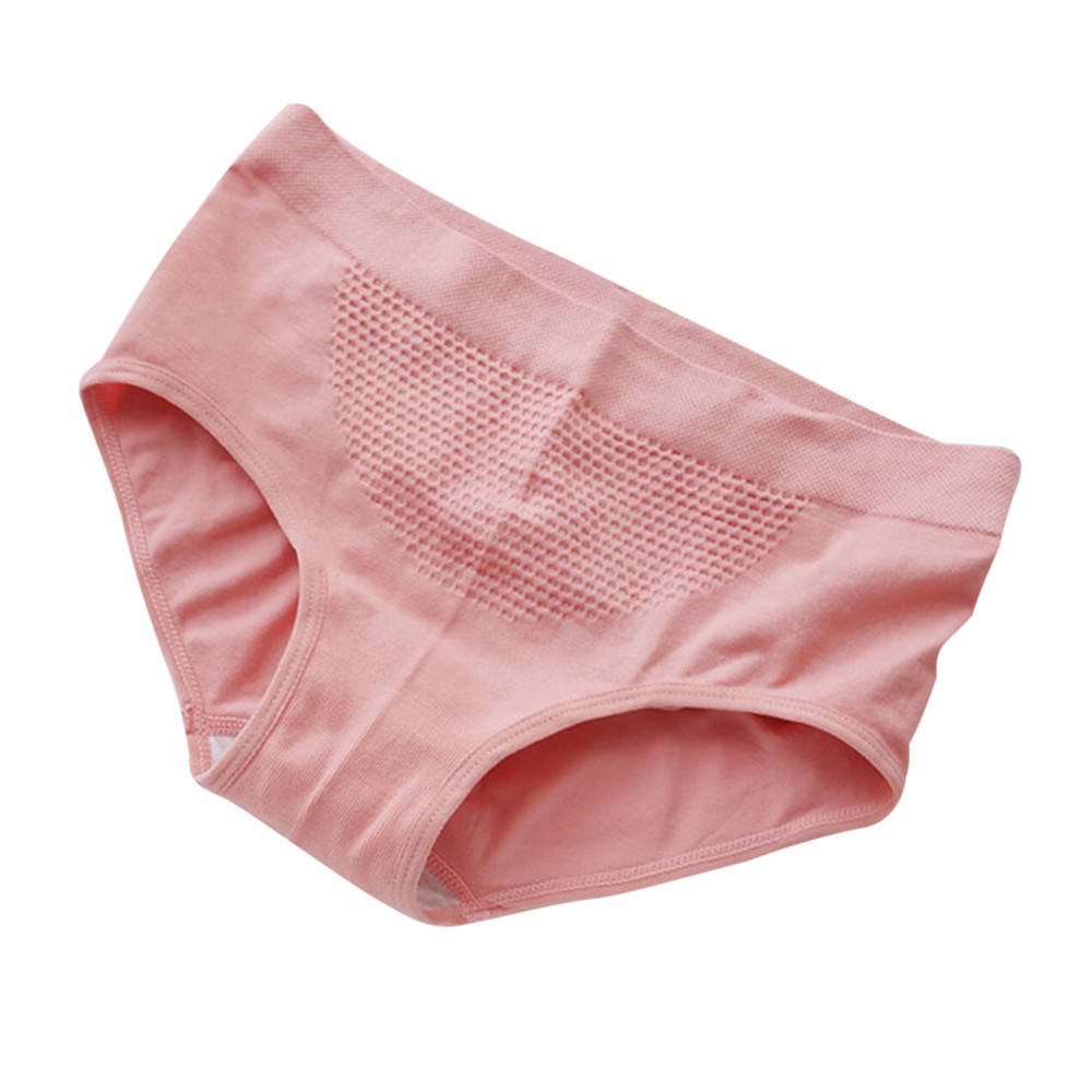 Women panties Honeycomb Seamless Warm Court Belly female underwear lingerie#SL04