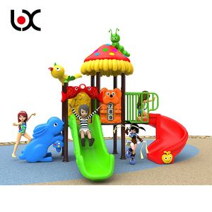 Hot Sale Kids Outdoor Children Toy Slide Set Playground Plastic Slide