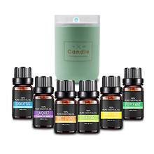 Aromatherapy Essential Oils Set, Top 6 100% Pure Premium Organic Aromatic Reed Diffuser Oil