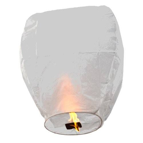 Wholesale 100 Biodegradable No Flame Flying Paper Sky Lanterns