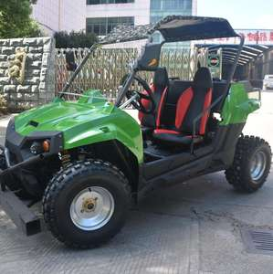 China 6-Zetel 1200CC 4x4 Farm Manual Side Door Kanten UTV