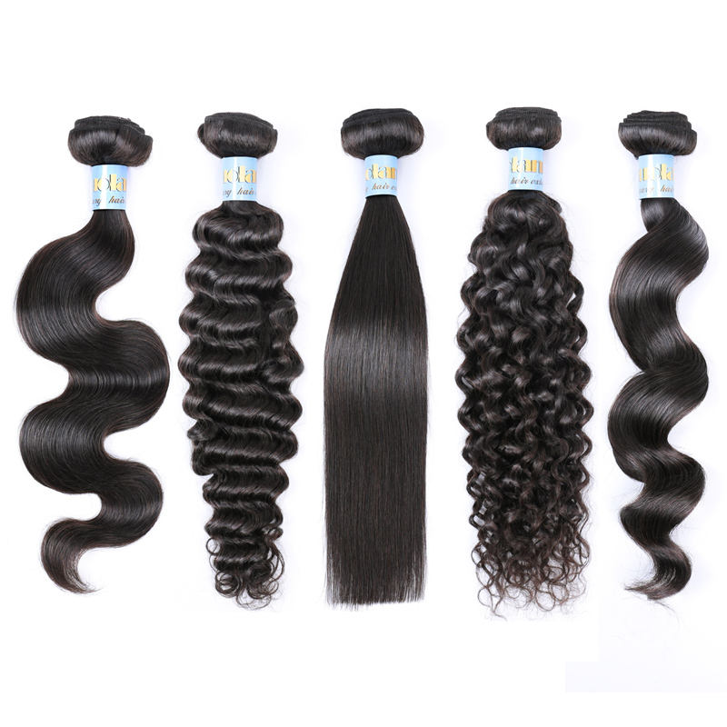 Indian Extensions Hair Weave Extensions RLN Best Selling Black Body Wave Hair Weft Indian Human Hair Weave Extensions For African American