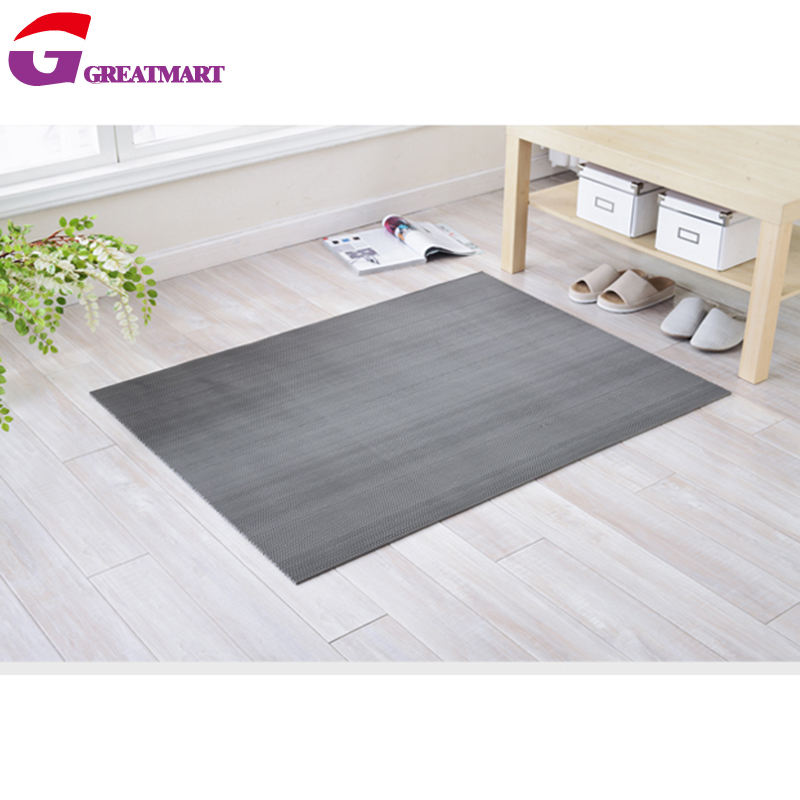 hollow design PVC s mat door mat