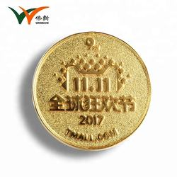 Custom gold plated metal pin badges manufacturer