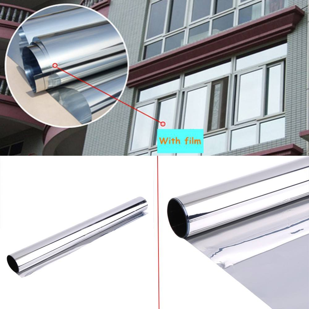 silver mirror film window film metalized reflective film