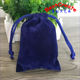 Wholesale cute treasure pouches high quality velvet drawstring customized gift bags