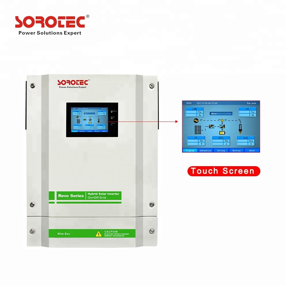 240VAC Pure Sinus Solar Power Inverter 5500W Met Batterij Optionele Zonne-energie-Opslag Inverter