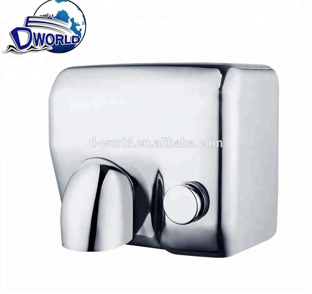 10% discount for hot salie 304 Stainless steel 2300W Factoury Direct Electric high speed Plug in Hand Dryers