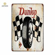 Retro Poster Decoration Use 20*30cm Wall Metal Vintage Tin Sign
