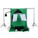 Photo studio light photography equipment reflect Black silver Gold umbrella and Soft Box Kit