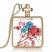 handmade artificial flower Perfume lockets pendants for women Jewelry