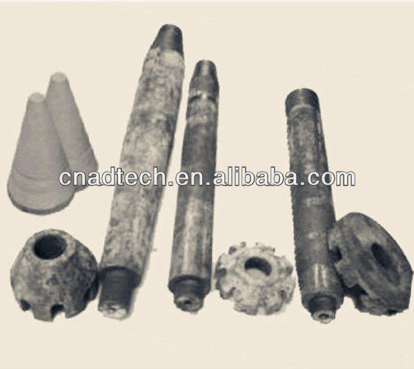 aluminum casting used refractory Graphite rotor