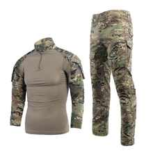 Combat Frog suit / camouflage uniform with knee/elbowpad