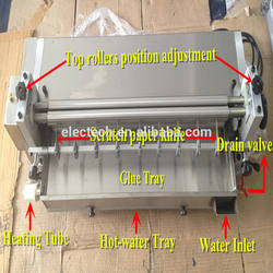 Top quality high speed hot and cold glue machine price