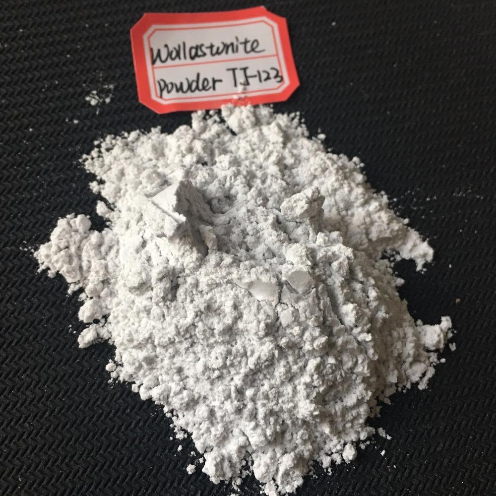 ceramic filler Wollastonite 325 mesh fine powder from china zibo