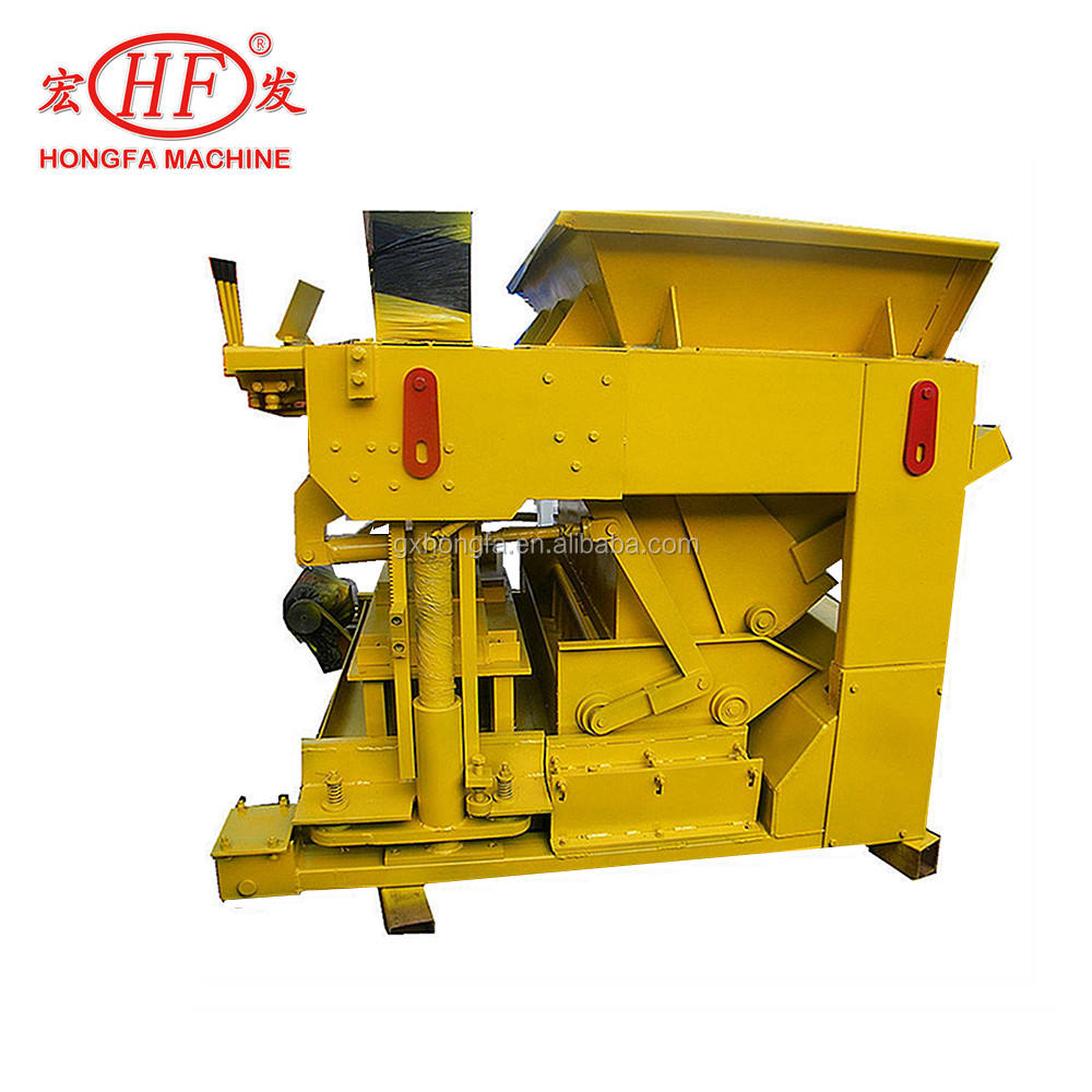 Home building materiaal machines HFB560 tijger beton blok machine