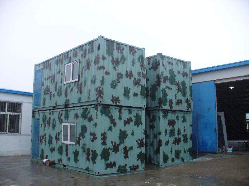 40футов хорошее качество сварной контейнерный дом