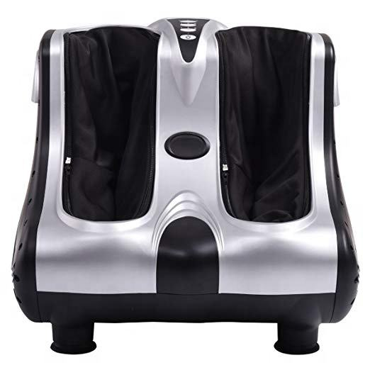 Blood circulation foot massage machine electric vibrating foot leg massager