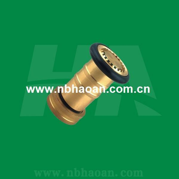 Brass Portable Fog Spray Nozzle / Hose Nozzle