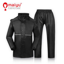 Maiyu unique waterproof raincoat suit for motorcycle