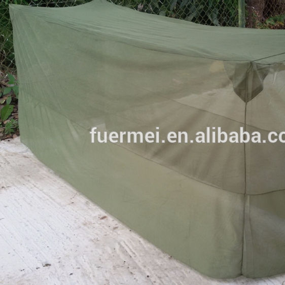 oliver green color military mosquito net for army use